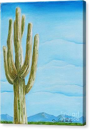 Cactus Jack Canvas Print by Joseph Palotas