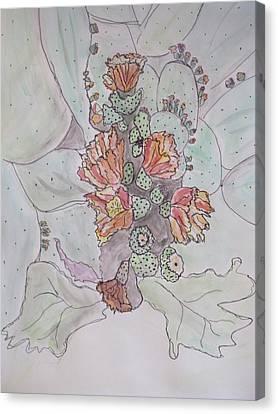 Cactus Voices  #1 Canvas Print