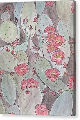 Cactus Voices #2 Canvas Print
