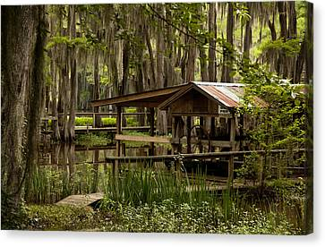 Caddo Lake Reflection Canvas Print