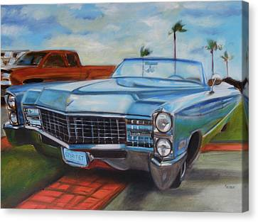 Caddy Spirit Of 67 Canvas Print by Kaytee Esser