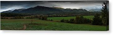 Cades Cove Panoramic Canvas Print
