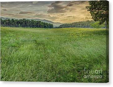 Cades Cove Canvas Print by Patrick Shupert