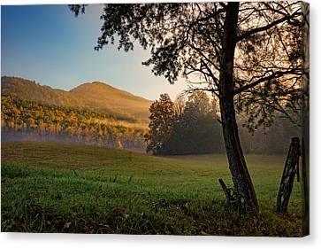Cades Cove Canvas Print by Rick Berk