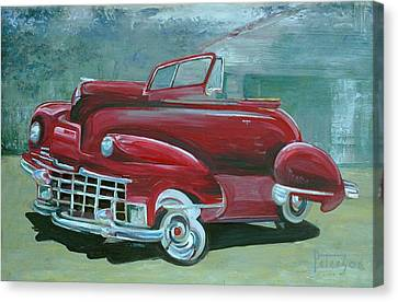 Cadillac 47 Canvas Print by Gary Peterson