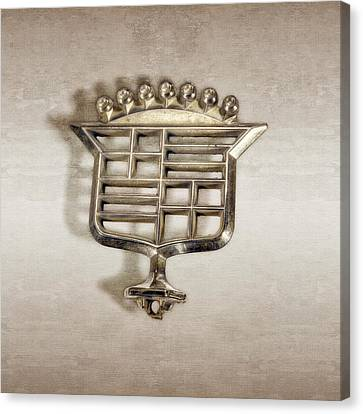 Atomic Canvas Print - Cadillac Emblem by YoPedro
