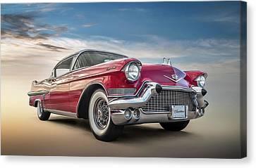 Cadillac Jack Canvas Print by Douglas Pittman