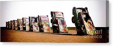 Cadillac Ranch 3 Canvas Print by Bob Christopher