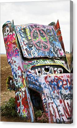 Cadillac Ranch Canvas Print by Marilyn Hunt