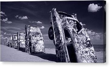 Cadillac Ranch Canvas Print by Steve Williams