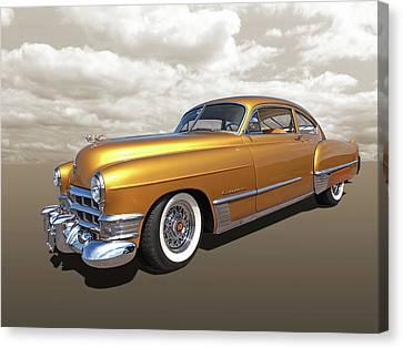 Cadillac Sedanette 1949 Canvas Print by Gill Billington