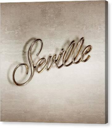 Cadillac Seville Emblem Canvas Print