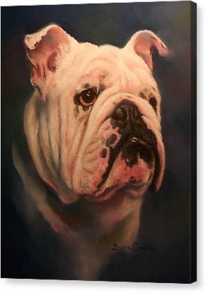 Caesar Canvas Print by Diane Caudle