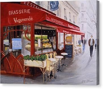 Cafe 4 Canvas Print by Jay Johnson
