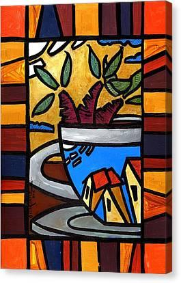 Cafe Caribe  Canvas Print