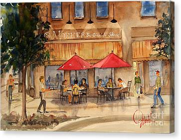 Cafe Chocolate Canvas Print