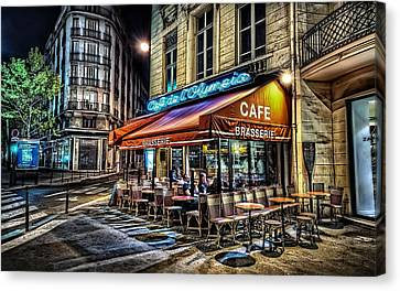 Cafe Collection Canvas Print