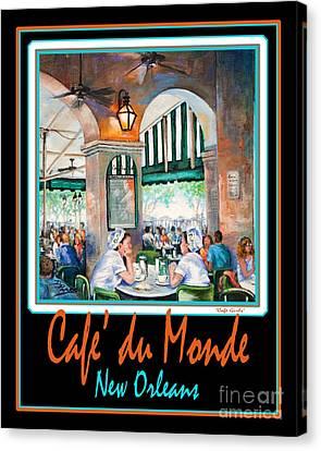 Cafe Du Monde Canvas Print by Dianne Parks