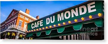 Cafe Du Monde New Orleans Picture Canvas Print