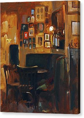 Canvas Print - Cafe Jelinek by Andrew Judd