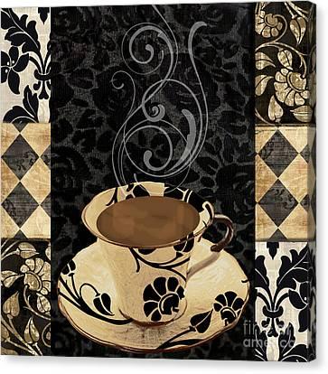 Cafe Noir IIi Canvas Print