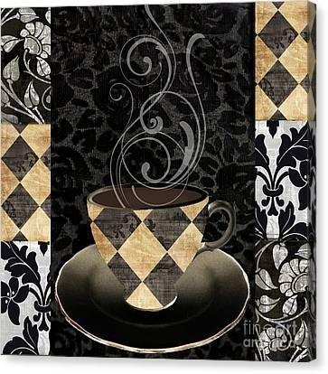 Cafe Noir Iv Canvas Print