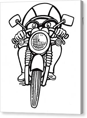 Cafe Racer 2 Canvas Print by Scott Nelson