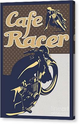 Canvas Print - Cafe Racer by Sassan Filsoof