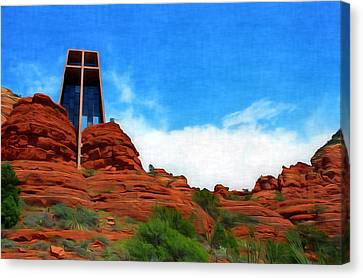 Chapel Of The Holy Cross - Sedona Arizona Canvas Print