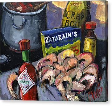 Cajun Boil Canvas Print