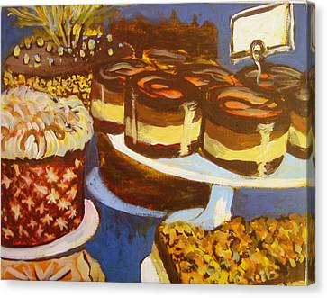 Cake Case Canvas Print