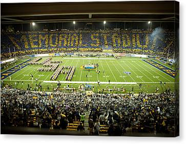Cal Canvas Print - Cal Memorial Stadium On Game Day by Replay Photos