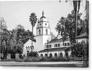 Cal State University Channel Islands Bell Tower Canvas Print by University Icons