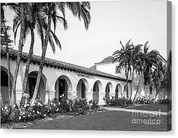 Cal State University Channel Islands University Hall Entrance Canvas Print by University Icons