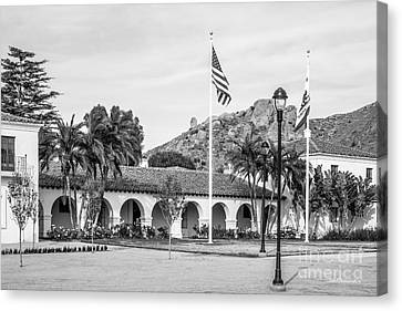 Cal State University Channel Islands University Hall Canvas Print by University Icons