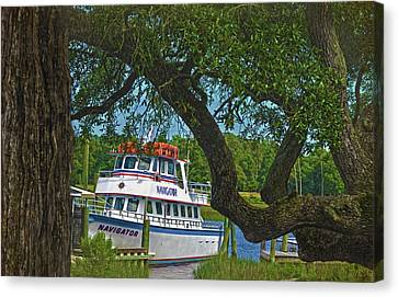 Calabash Deep Sea Fishing Boat Canvas Print by Sandi OReilly