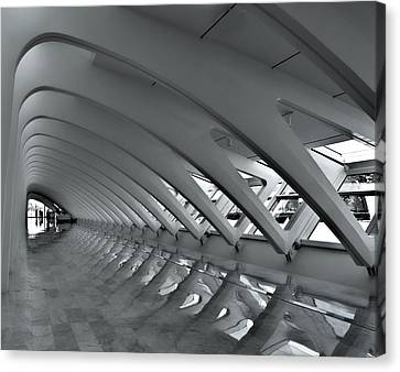 Calatrava 3 Canvas Print by Gordon Engebretson