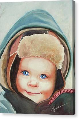 Caleb Canvas Print by Marilyn Jacobson