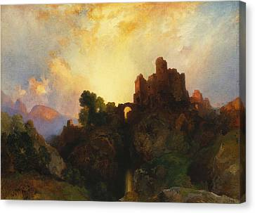 Caledonia Canvas Print by Thomas Moran