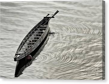 Calgary Dragon Boat Canvas Print