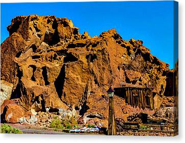 Calico Miners Shack Canvas Print
