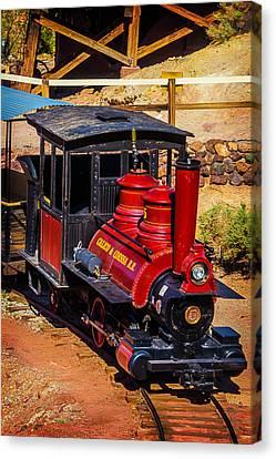 Calico Odessa Number 5 Train Canvas Print