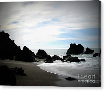 California Coast Iv Canvas Print by Mg Blackstock