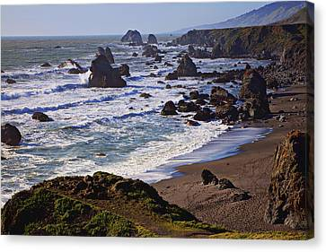 California Coast Sonoma Canvas Print by Garry Gay