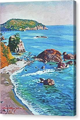 Canvas Print - California Coastline by David Lloyd Glover