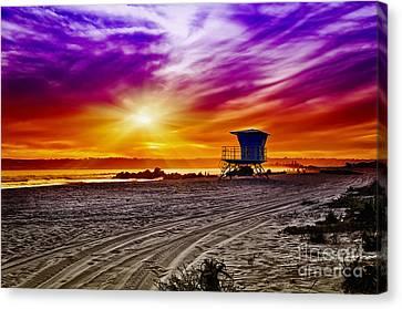 California Dreaming Canvas Print by Alessandro Giorgi Art Photography