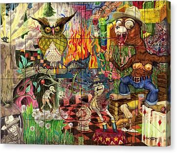 California Dreaming Canvas Print by Brian Child