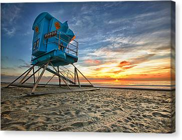 Houses Canvas Print - California Dreaming by Larry Marshall