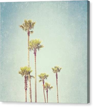 California Dreaming - Palm Tree Print Canvas Print by Melanie Alexandra Price