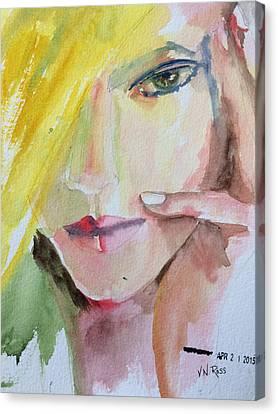 California Girl Canvas Print by Vicki Ross